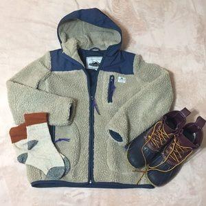 Penfield x Madewell Sherpa Fleece Jacket
